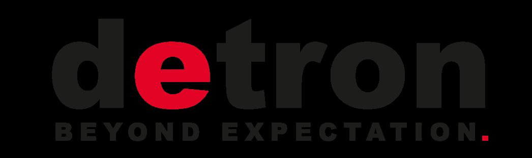 detron-slogan-logo-black