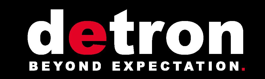 detron-slogan-logo-white